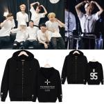 Preorder เสื้อฮู๊ดมีซิป bts WINGS IN JAPAN