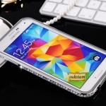 Case Samsung Galaxy S5 bumper เคสซัมซุง กาแล็กซี่ เอส5 เคสติดเพชรขอบข้าง ID: A217