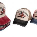 หมวกแก๊ป หมวกมีปีก หมวกเบสบอล หมวกยีนส์ ผ้าแคนวาส ปักธงชาติอังกฤษ ลาย United Kingdom หมวก แก๊ป เท่ ๆ มีหลายสีค่ะ 189660