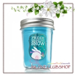 Bath & Body Works / Mason Jar Candle 6 oz. (Fresh Sparkling Snow)
