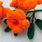 บานบุรีถัก สีส้ม