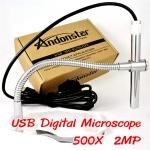 (พร้อมส่ง) กล้องจุลทรรศน์ทรงปากกา USB Microscope 500X, 2 ล้านพิกเซล ฐานอะคริลิก ปรับโฟกัสง่าย