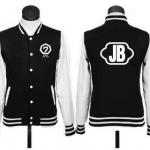 เสื้อกันหนาวเบสบอล Got7 JB