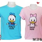 เสื้อยืดคู่รัก Donal duck