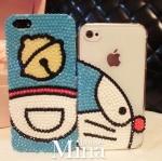 โดเรม่อนมาแล้ว เคสไอโฟนคริสตัลลาย Doraemon iPhone6s iPhone 6s plus Samsung galaxy S6 edge Plus โดราเอม่อนขวัญใจเด็ก ๆ ทำเป็นเคสคริสตัลสวยงาม ID: A311
