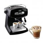 เครื่องชงกาแฟสด ในบ้าน แบบอัตโนมัติ แรงดัน 15 bar espresso cappuccino อุปกรณ์ ครบชุด no 86586