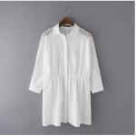 เสื้อสุภาพสตรีอ้วน XL-3XL