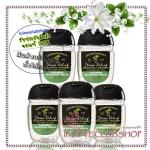 Bath & Body Works / PocketBac Sanitizing Hand Gel 29 ml. Pack 5 ขวด (Stress Relief - Eucalyptus & Spearmint)