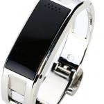 นาฬิกาอัจฉริยะ นาฬิกาข้อมือ Smart Watch รับโทรศัพท์ได้ รับ SMS ได้ ดีไซน์ แบบกำไลข้อมือ มีสี เงิน และ Rose Gold ใช้กับ ระบบ Android 409723
