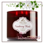 Bath & Body Works Slatkin & Co / Candle 14.5 oz. (Cranberry Woods) *แนะนำ