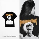 Preorder เสื้อแขนสั้น PURPOSE TOUR Bieber OVERSIZE