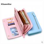 กระเป๋าสตางค์ กระเป๋านามบัตร แบรนด์ KQueenStar