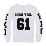 เสื้อแขนยาว CHANYEOL-61 black sleeves [EXO]