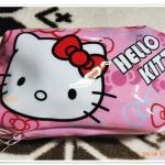 กระเป๋าใส่ดินสอ ใส่เงิน Kitty สีชมพู K001