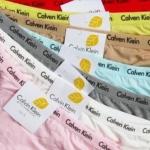 กางเกงใน ผ้า Cotton อย่างดี กางเกงในผู้หญิง ck สี ฟ้า เหลือง ชมพู เขียว และ สีเนื้อ no 636246