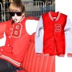เสื้อเบสบอล Justin Bieber JustinBieber
