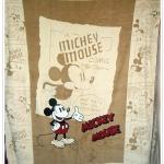ผ้าห่มกำมะหยี่ เนื้อนุ่ม 5 ฟุต Micky Mouse สีน้ำตาล M004