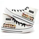 รองเท้าหุ้มข้อ EXO ver Cartoon2