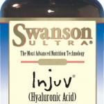 Swanson Injuv Hyaluronic acid 140 mg 30 Softgels กรดไฮยาลูโรนิคเข้มข้น ช่วยเติมเต็มร่องลึกให้กับผิว บำรุงผิวให้นุ่มชุ่มชื่น เนียนเรียบ กระชับเต่งตึง