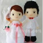 ตุ๊กตาแต่งงาน แบบ B