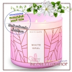 Bath & Body Works Slatkin & Co / Candle 14.5 oz. (White Opal) *