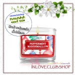 Bath & Body Works Slatkin & Co / Mini Candle 1.3 oz. (Joy - Peppermint Marshmallow)