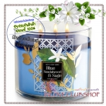 Bath & Body Works Slatkin & Co / Candle 14.5 oz. (Blue Sandalwood & Sage)