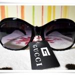 แว่นตาดำ Gucci กรอบดำ B108