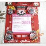 ที่ใส่ป้ายทะเบียนภาษี รถยนต์ หรือ พรบ ลายทีมฟุตบอล Liverpool K004