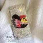 Case iPhone8/8Plus Crystal รับสั่งทำเคสไอโฟน8พลัสของขวัญมีความหมายเป็นมงคล เคสรูปไก่เรียกทรัพย์