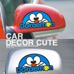 DORAEMON - สติ๊กเกอร์แปะกระจกข้างรถยนต์ ลายโดเรม่อน
