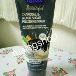 Freeman charcoal&blacksugar 175ml สีดำ