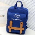พร้อมส่ง กระเป๋าเป้ EXO blue