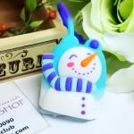 Bath & Body Works / PocketBac Holder (Snowman) *ไม่รวมเจลล้างมือ