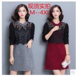 เสื้อสาวอ้วนพลัสไซต์ XL-4XL