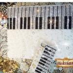 เคสไอแพดเปียโนขั้นเทพ รักเสียงดนตรี Case iPad 4 iPad 5 crystal คริสตัล รุ่น Piano Case ipad mini