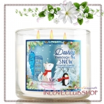 Bath & Body Works Slatkin & Co / Candle 14.5 oz. (Dashing Through The Snow)