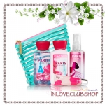 Bath & Body Works / Travel Size Scents & Stripes Gift Set (Paris Amour)