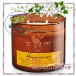 Bath & Body Works Slatkin & Co / Candle 14.5 oz. (Happiness - Bergamot & Mandarin) *
