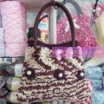 กระเป๋าไหมดอกไม้(สุดไฮโซ)