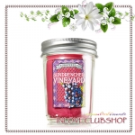 Bath & Body Works / Mason Jar Candle 6 oz. (Sundrenched Vineyards)
