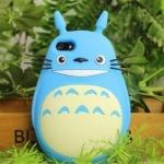 เคส iphone 6 6 plus เคสซิลิโคน อย่างดี เคส 3D ลายการ์ตูน Totoro จากญี่ปุ่น น่ารัก น่าสะสม สีฟ้า น่ารัก เคสหายาก 345393_1