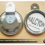 ที่ใสป้ายวงกลม ของHalcyon รุ่น 273 เป็นงานสเตนเลส นำเข้าจากอังกฤษแท้ๆ ของใหม่ในห่อครับ