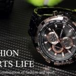 นาฬิกาข้อมือ แนว Sport สาย สแตนเลส สุดคลาสสิค นาฬิกาข้อมือผู้หญิง ผู้ชาย ใส่ได้ หน้าปัด หลายสี หลายสไตล์ นาฬิกาข้อมือ กันน้ำ no 70233