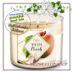 Bath & Body Works Slatkin & Co / Candle 14.5 oz. (White Peach)