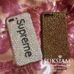 Supreme Case iPhone8Plus Crystals handmade เคสไอโฟน8พลัสไฮโซคริสตัล