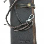 กระเป๋าสตางค์ผู้ชาย แนว วินเทจ กระเป๋าสตางค์ ใบยาว หนังแท้ แบบเท่ ๆ มีสายห้อย กางเกง มี 2 สี กระเป๋าสตางค์ใบยาว ของขวัญให้คนพิเศษ 577077