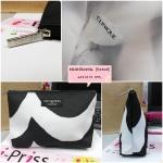 กระเป๋าเครื่องสำอาง CLINIQUE โดย Marimekko ขาวดำ