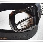 เข็มขัดหนังแท้ Lee สีดำ B201