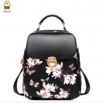 กระเป๋าเป้ Beibaobao รุ่น 110 (พื้นสีดำ)